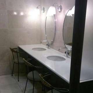 公衆トイレで歯磨きやうがい、できますか?