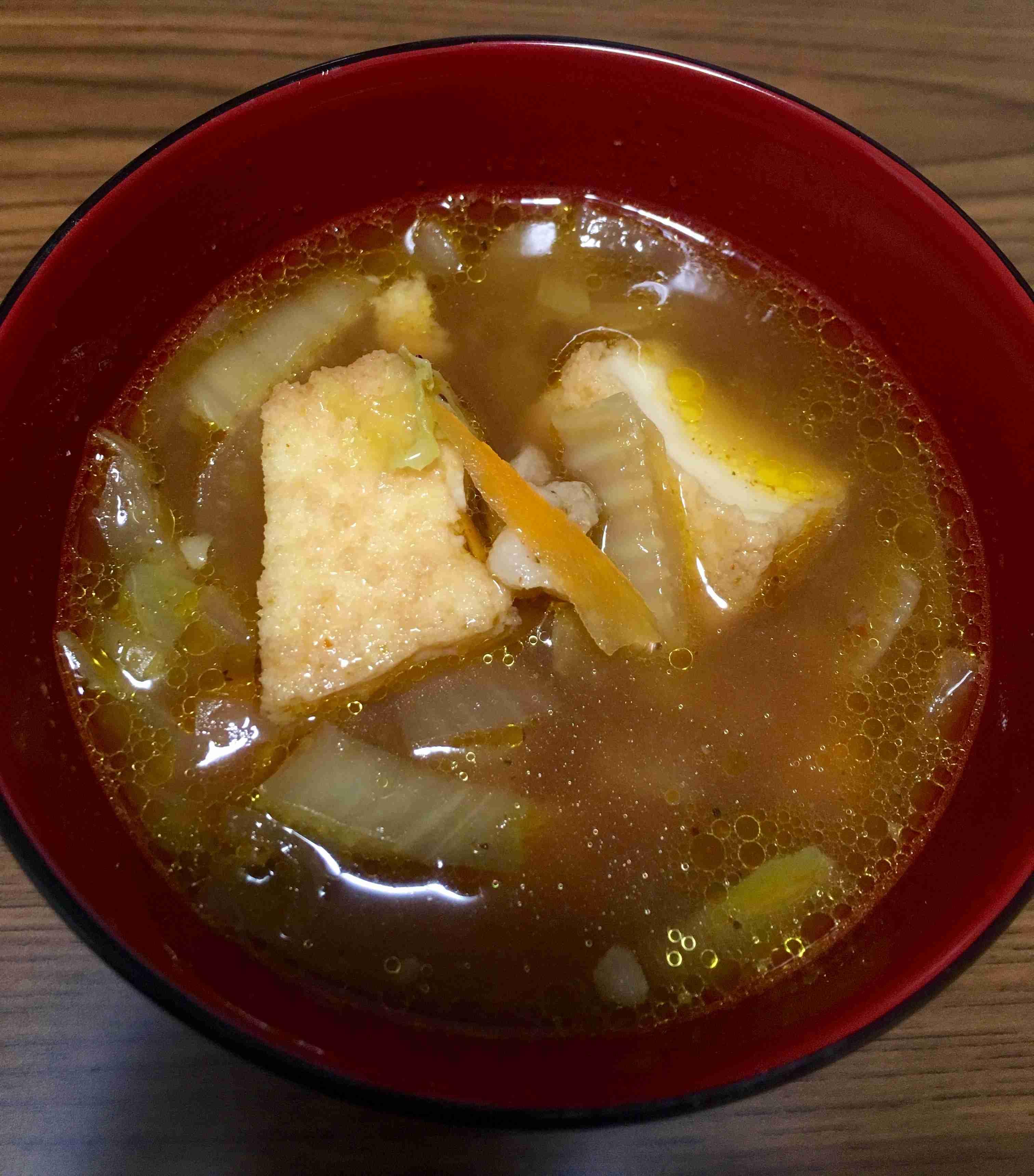 野菜スープが好き