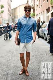 男性の半ズボンファッションはあり?なし?