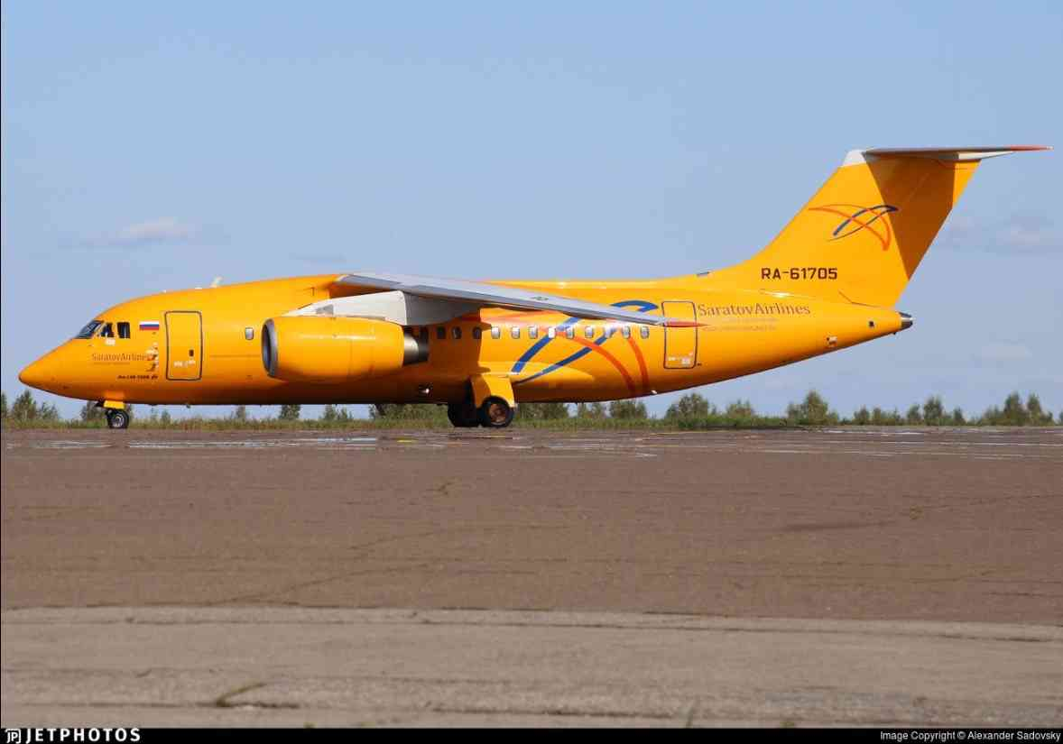 モスクワ郊外で旅客機墜落=国内線、71人搭乗