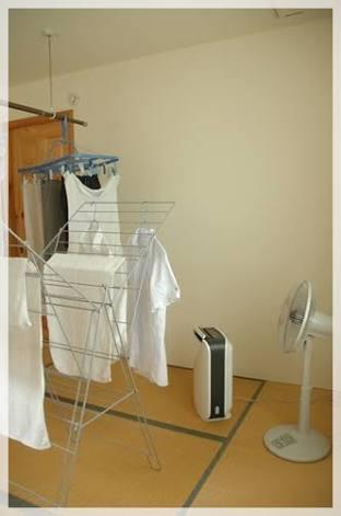 洗濯物が乾かない時の必殺技!