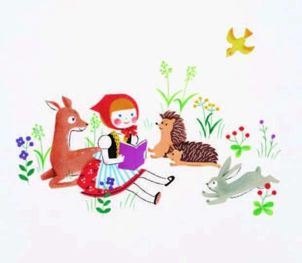 可愛らしい動物を描くイラストレーターさん