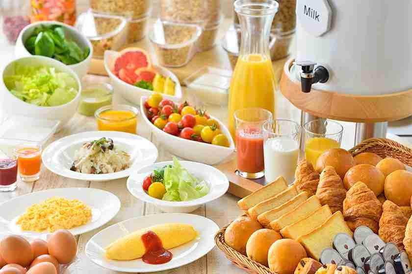朝食バイキングで必ず食べるもの