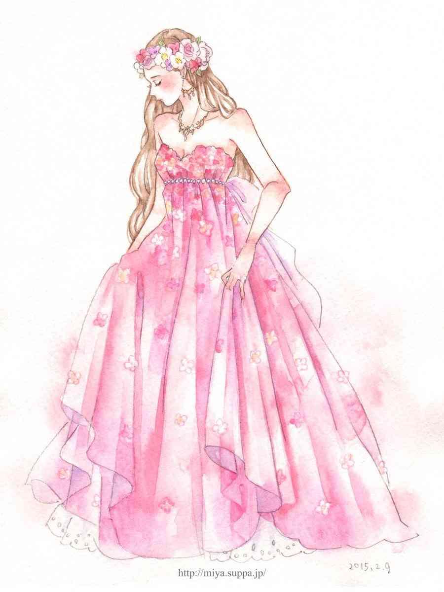ピンク色の画像を貼るトピ