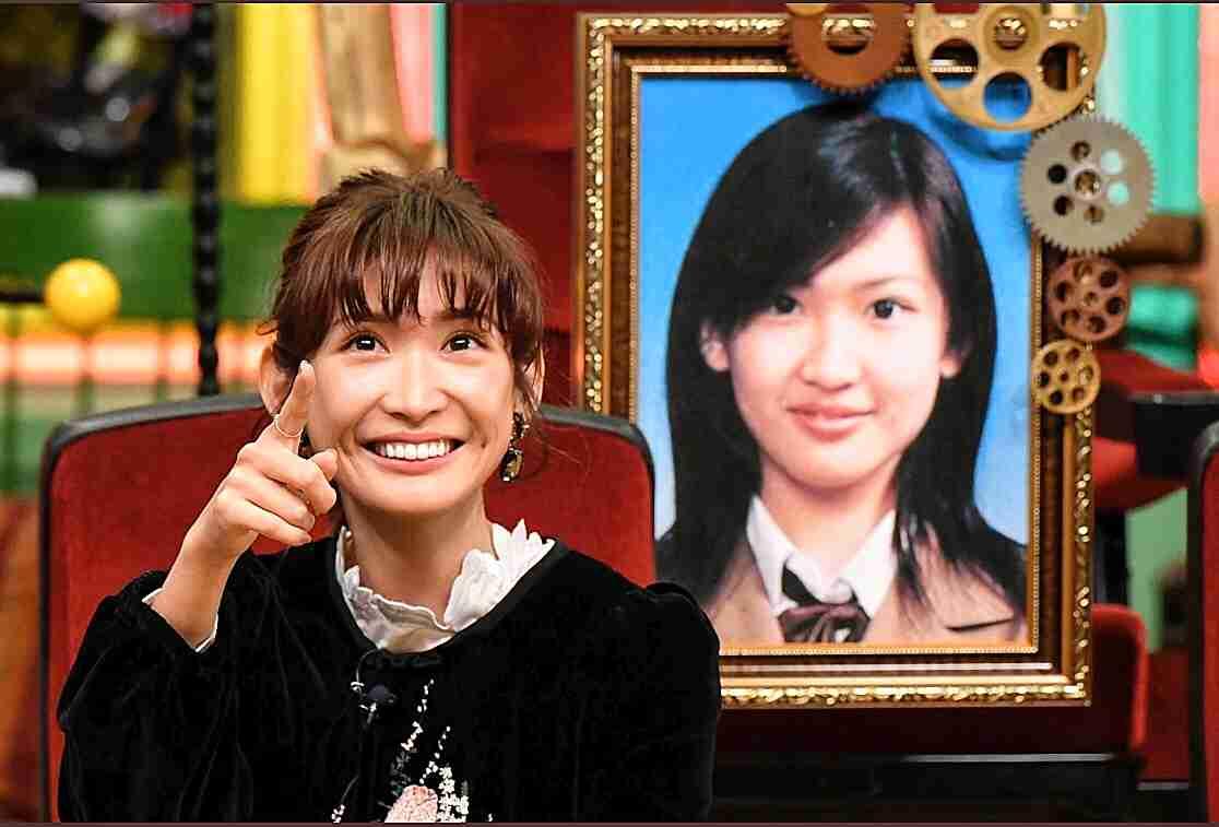 紗栄子 中学時代にファンクラブが存在していたと明かす
