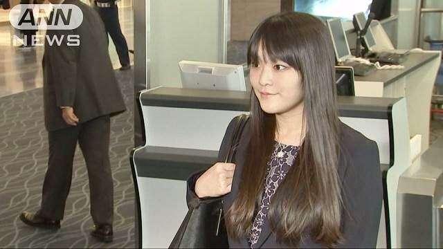 眞子さま、現代女流書展に=結婚延期後初の公務