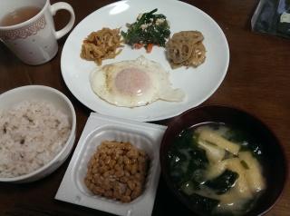 リアルな和朝食