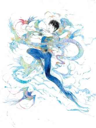 羽生結弦の美しすぎるイラストが話題 「東京喰種」作者投稿に「いいね」の嵐