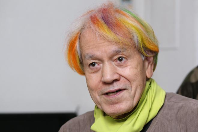 ぺえ、前髪をレインボーカラーに 「まさにラブリーガール」「志茂田景樹さんみたい」の声