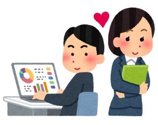 社内恋愛してる方〜!