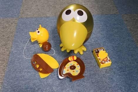 チョコボールのおもちゃのカンヅメ当たったことある人いますか?