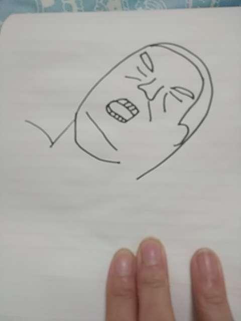 ガルちゃんでよく見る画像をお手本なしで描くトピ