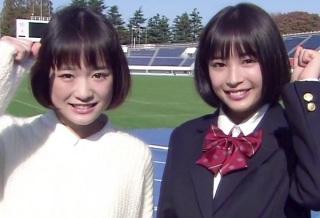 """「やっぱり2人は似てる」 大原櫻子、黒髪ボブ復活で広瀬すずより""""すず味""""が増す"""