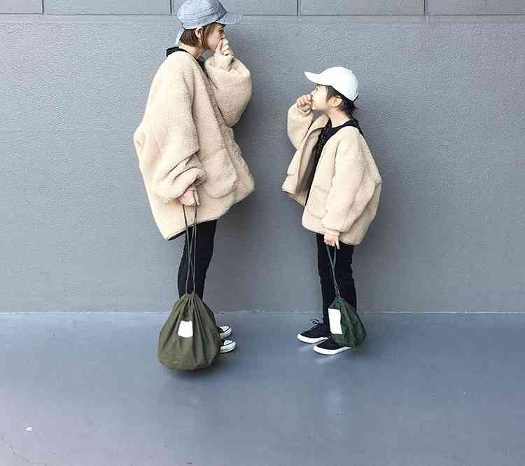 小さい子のママのファッション