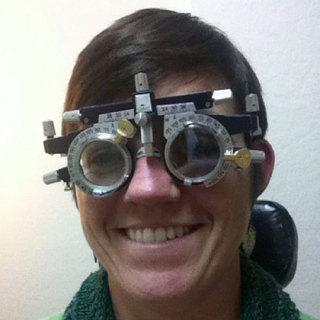 視力検査が苦手です。