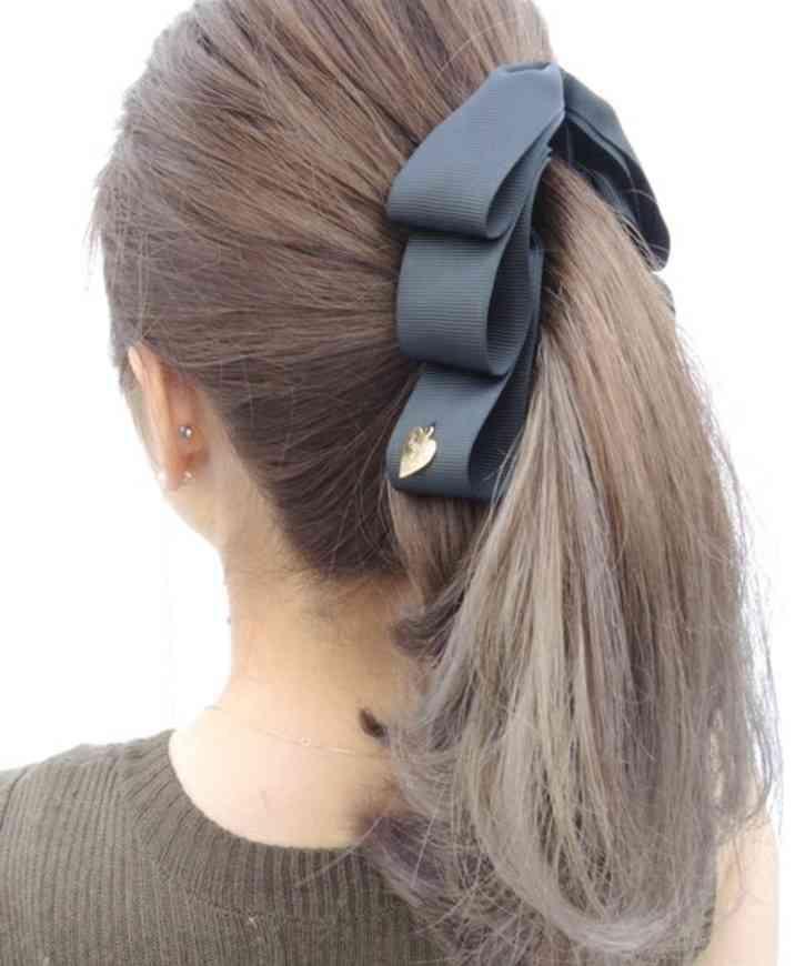 好きなヘアアクセサリーは何ですか?