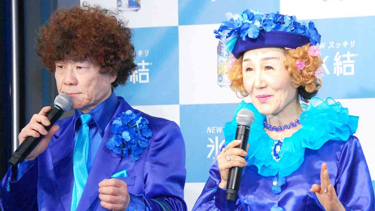 【画像】青系の色の衣装の芸能人