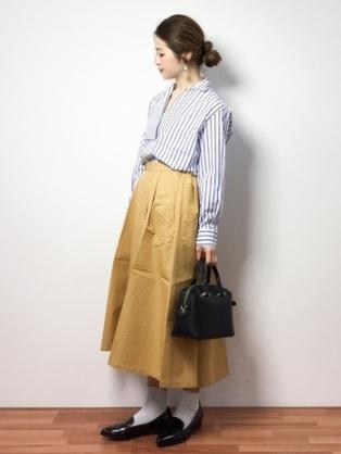 ローファーのコーディネート画像【春・夏】