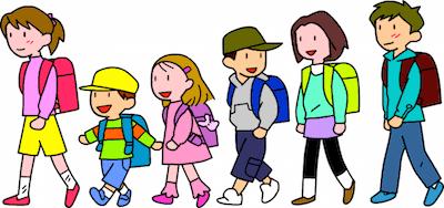 集団登校時のトラブル