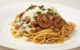 うちで作ろうスパゲッティ