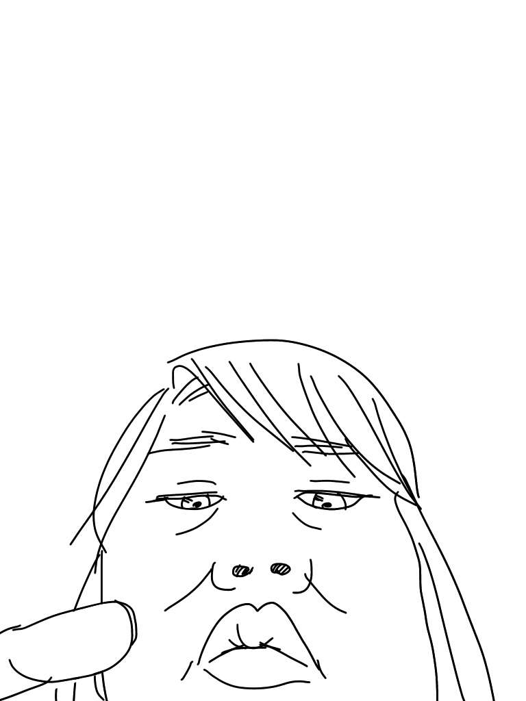 誰にも見られたくない日常のひとコマを描くトピ