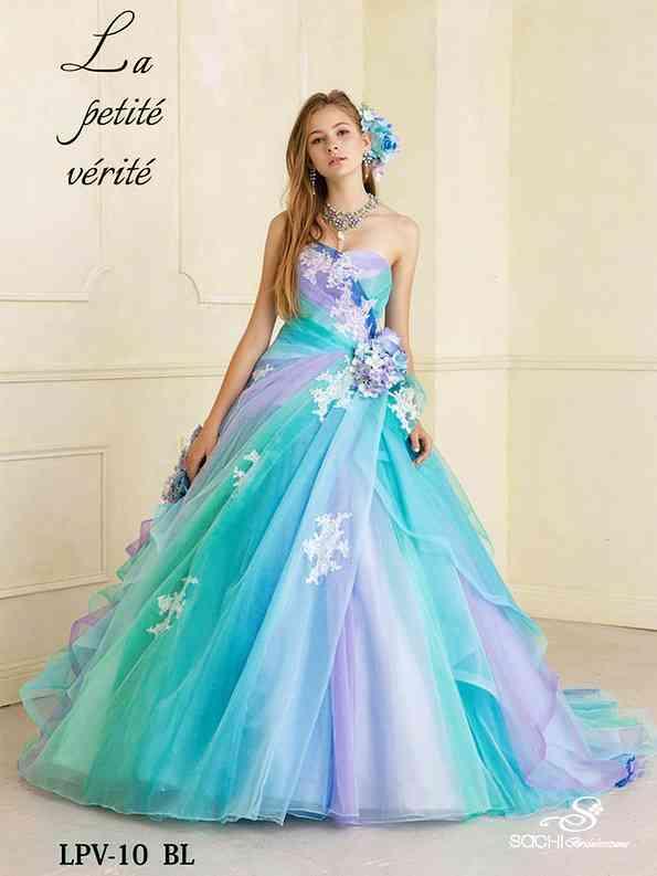 色んなカラードレスがみたい*