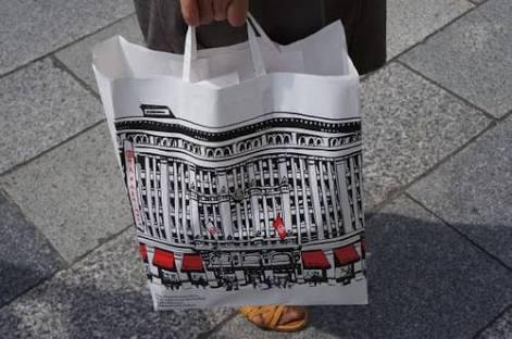 いろんなショッパー(紙袋)が見てみたい。