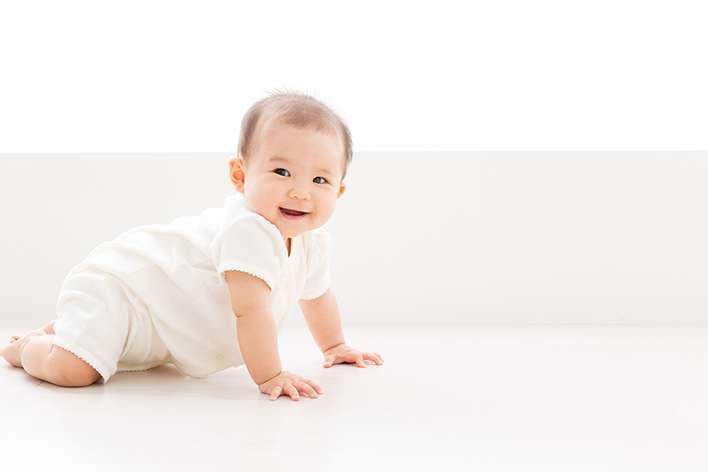 ハイハイ期の赤ちゃんの為の部屋づくり