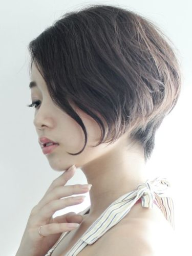 美人にしかできない髪型