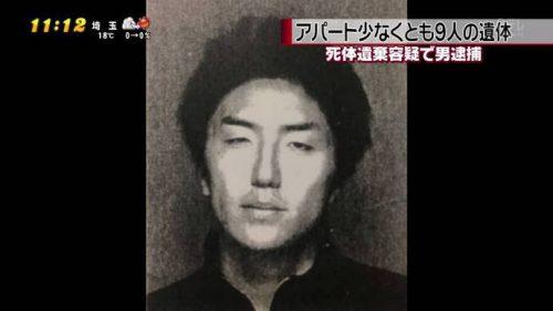 埼玉の女子高生殺害容疑で10回目再逮捕 被害者全員を殺人で立件
