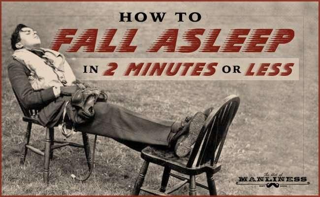 第二次世界大戦中に米海軍が開発した「2分以内に眠りにつく方法」とは?