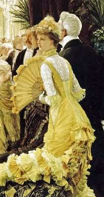 ドレスが素敵な西洋絵画