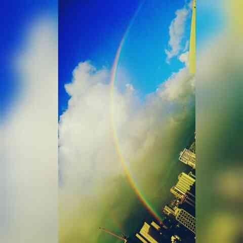 運気を上げる!虹の画像