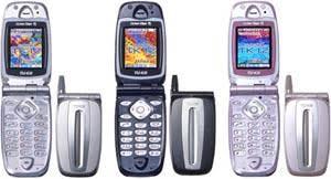 昔使ってた携帯電話