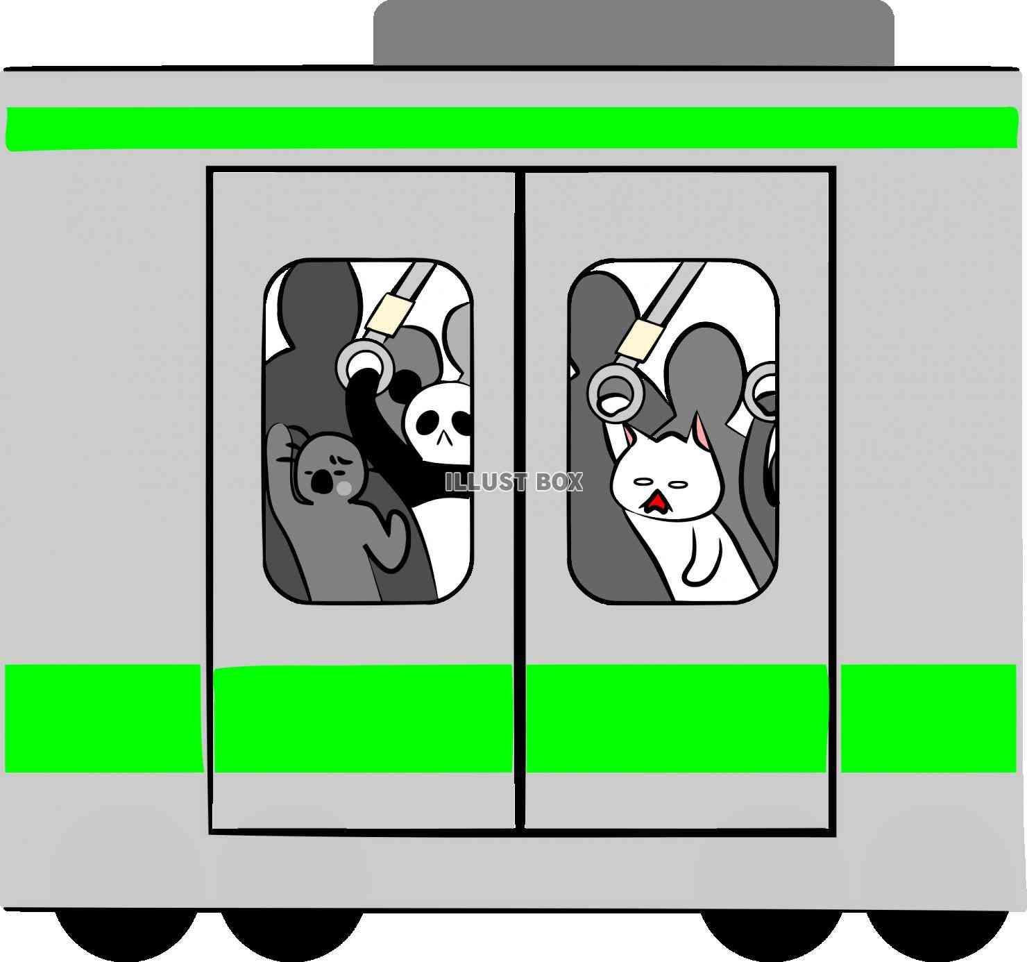 満員電車あるある