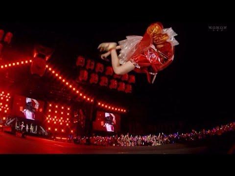 辻希美、ホコ天大興奮でエビ反りジャンプ