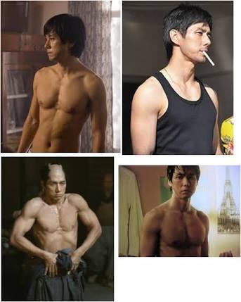 体型がタイプな男性芸能人