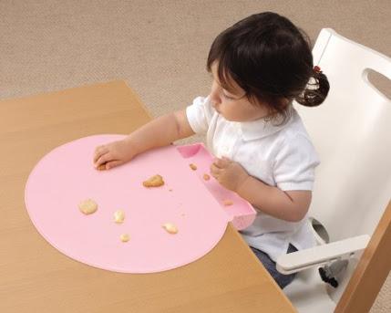 子供の食べこぼし対策
