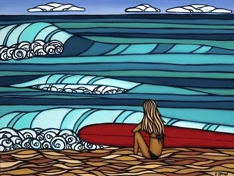 サーフィン女子いますか?
