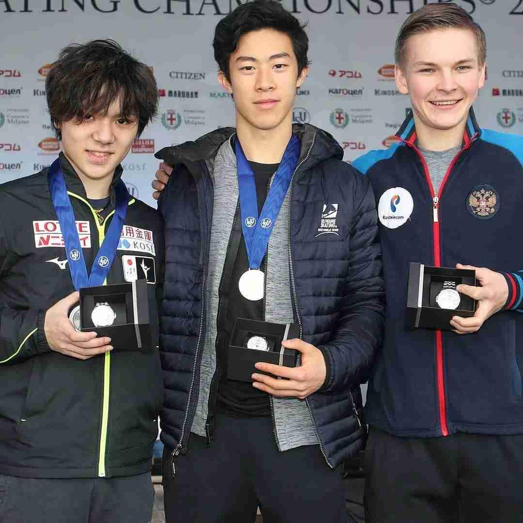 男子フィギュアスケートのネイサン・チェン選手が好きな人たちで話したい!