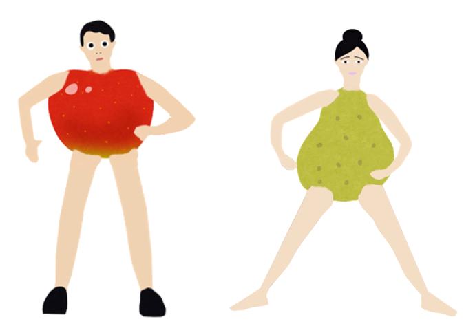 ダイエット成功したけど思ったのと違う体型になった人