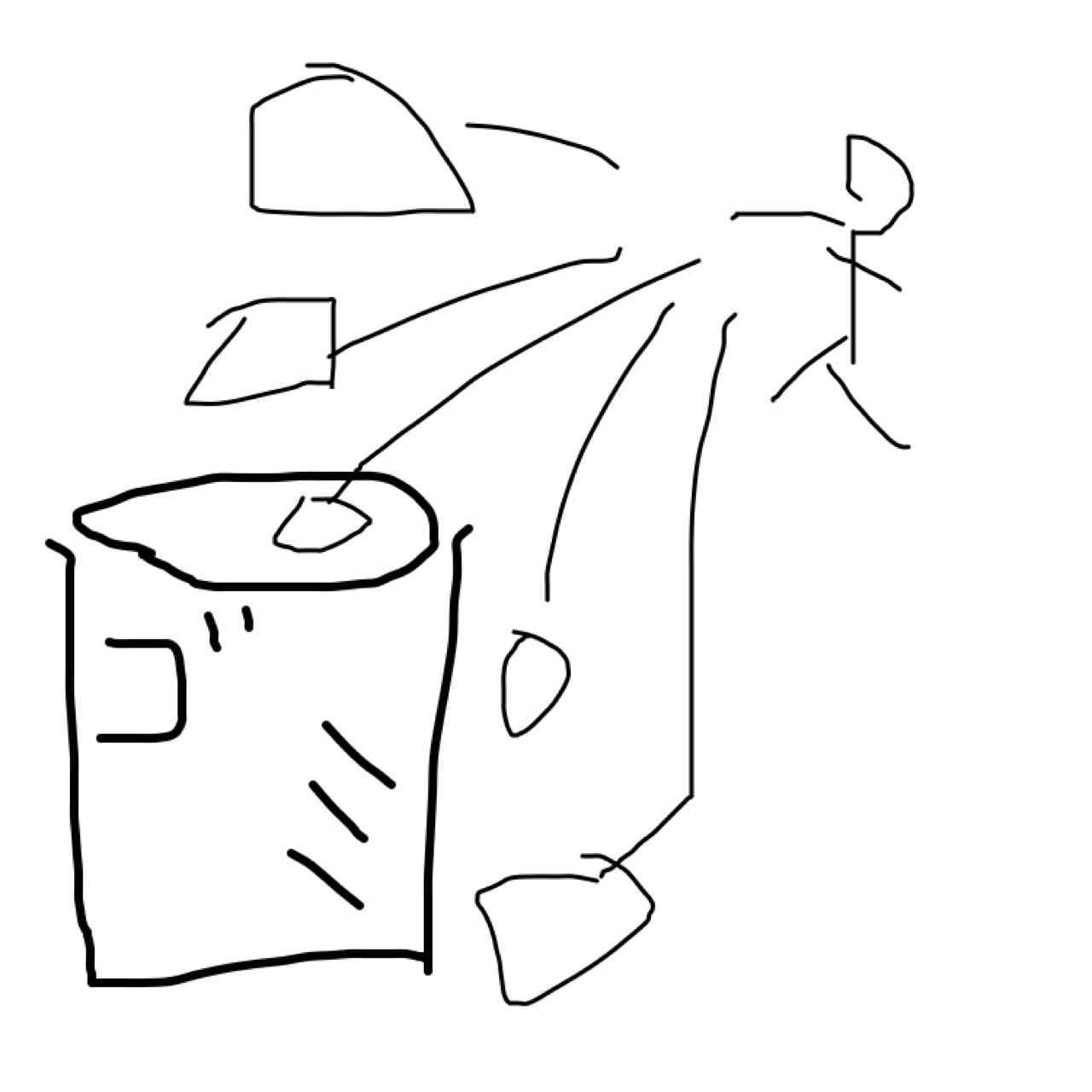 曲のサビの一部分を絵で描いてわかったらプラス