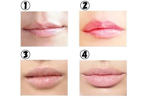 厚い唇と薄い唇どっちが好き?