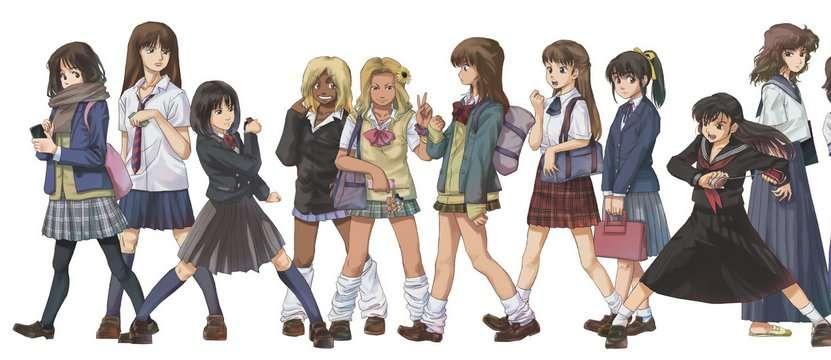 理想の学校制服