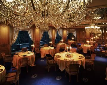 高級レストラン行ったことありますか?