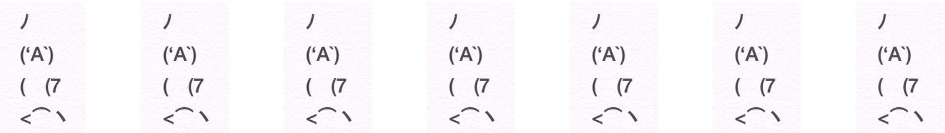 顔文字AAを使って話すトピ(*´∀`)