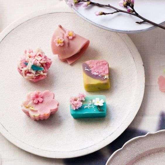 綺麗な日本庭園と和菓子の画像で和むトピ♪