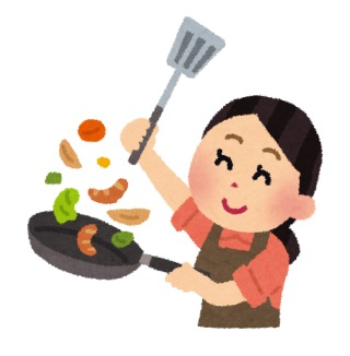 夕飯の調理時間