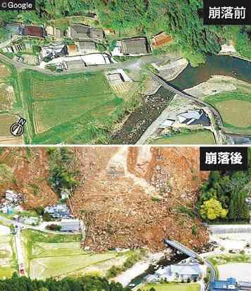 大分で土砂崩れ、6人安否不明…住宅の裏山崩落