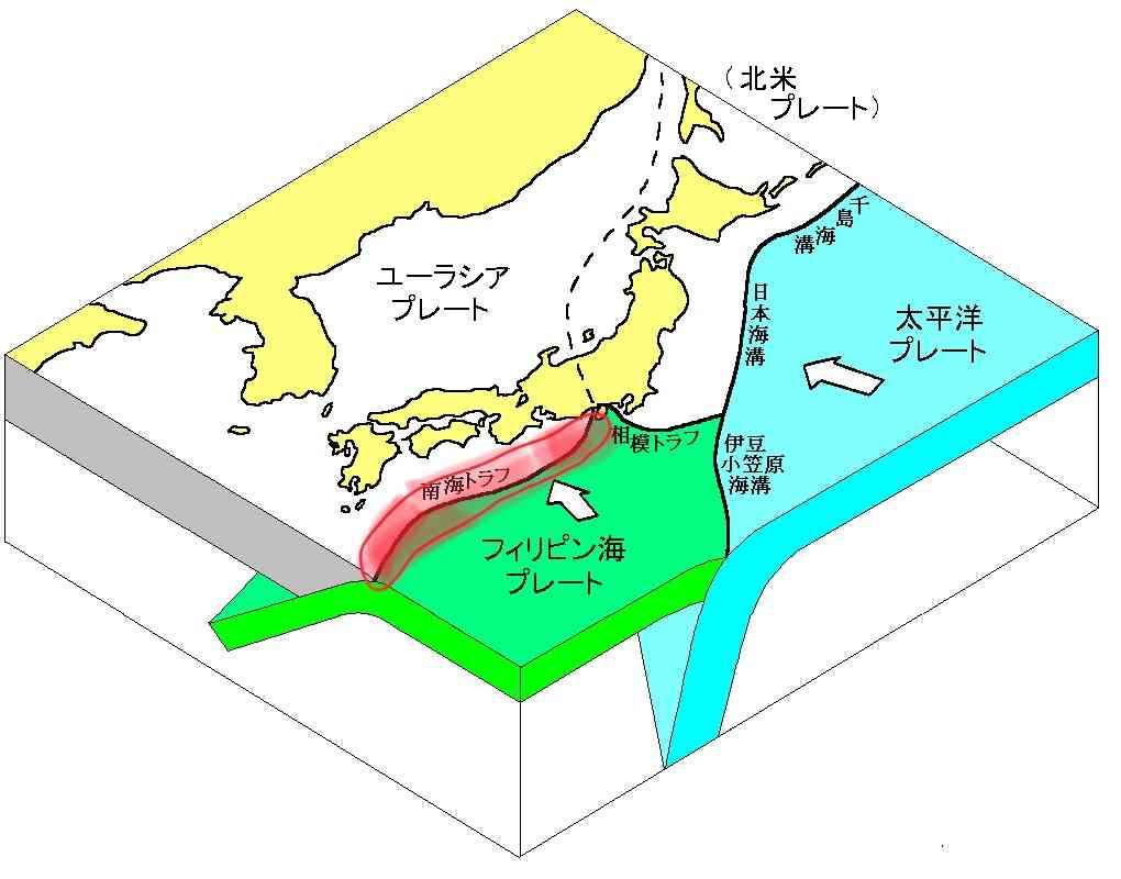 南海トラフ巨大地震について語ろう